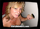 "Gloryhole Girls Sandy says ""I Love Dick!"""
